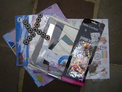 JOB LOT CRAFT CLEAROUT Embellishments  Confetti Cards