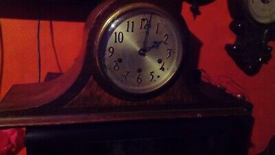 Antique mantel clock, westminster chimes, Seth Thomas, USA