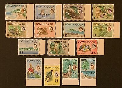 Dominica. Pictorials SG162/178. 1968. MNH. 5c missing. (B327)
