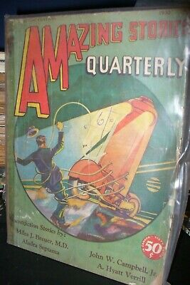 Amazing Stories Quarterly Us Edition, Summer 1930 [1 Issues]