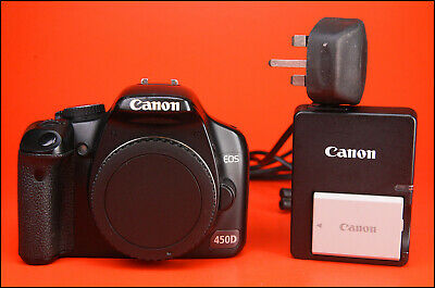 Canon EOS 450D DSLR Camera, Sold With Battery, Charger