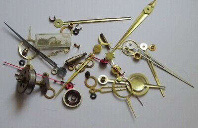 Selection Of Vintage Clock Parts