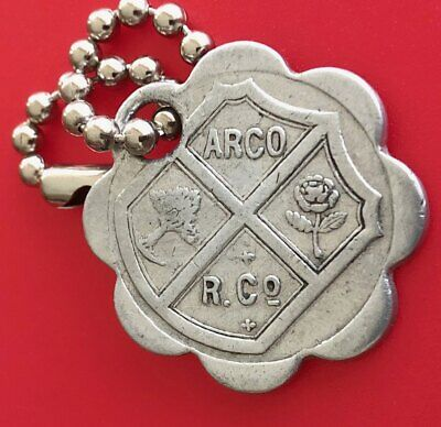 """Vintage Charge Coin Tag: """"Arthur Rosenbaum Co"""" (ARCO); Pittsburgh PA; Dept Store"""