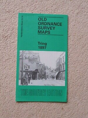 Reprint Of Old Ordnance Survey Map Tring 1899, The Godfrey Edition