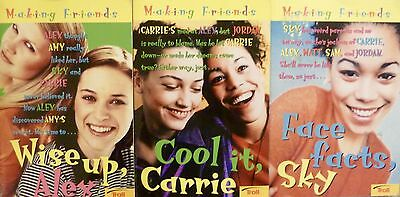 "Lot Of 3 ""Making Friends"" Books By Kate Andrews"