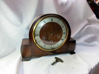 A Vintage Smiths Westminster Chimes Mantel Clock