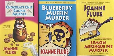 Lot Of 3 Hannah Swensen Mystery Books By Joanne Fluke