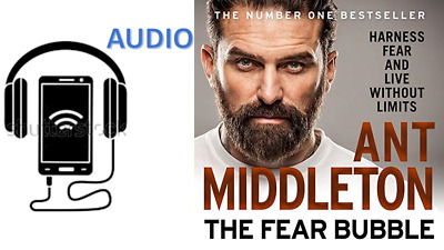 AUDIOBOOK The Fear Bubble By Ant Middleton New AUDIO History Best Seller Gift