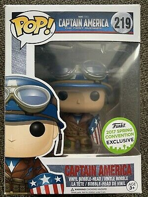 Captain America WWII ECCC Exclusive - Marvel Funko POP! Vinyl Figure