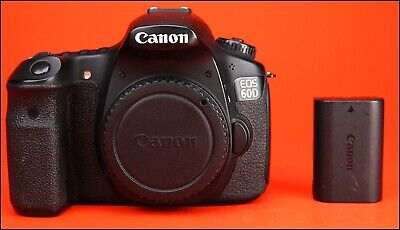 Canon EOS 60D DSLR Camera, Sold With Battery