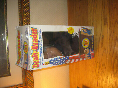 Fun ~ Vintage PRESIDENT BILL CLINTON Draft Evader Collectible Doll ~