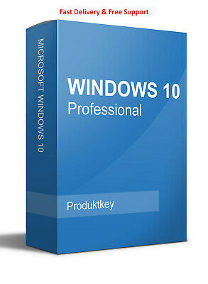 Windows 10 Pro 32/64 bit product key genuine code INSTANT DELIVERY