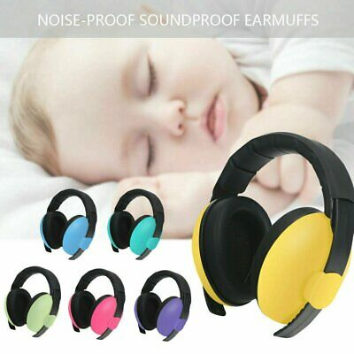 Adjustable Baby Ear Muffs Noise Cancelling Reducing Earmuffs Hearing Protect IN
