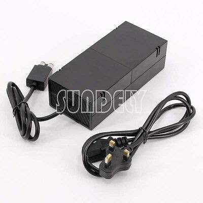 XBOX ONE POWER SUPPLY BRICK UNIT AC Adapter Mains Charger Cable FAST SHIP
