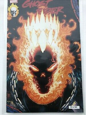Ghost Rider 2019 #1 NM NYCC EXCLUSIVE VARIANT Glow in the Dark IN HAND