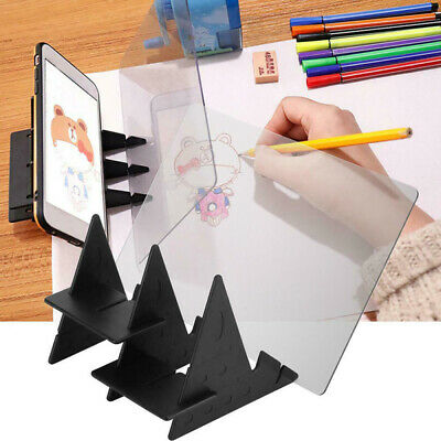 Portable Optical Tracing Board Copy Pad Panel Art Crafts Anime Drawing Board AU