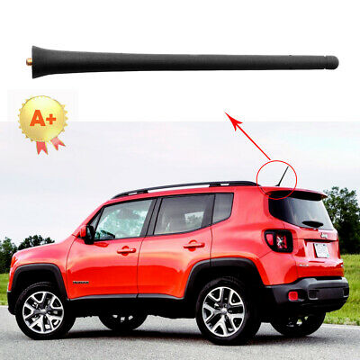 """For 11-13 JEEP GRAND CHEROKEE 3/"""" SHORT Removable Antenna Mast Black Aerial"""