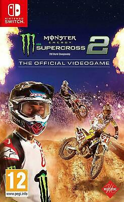 Monster Energy Supercross 2 - The Official Videogame - Nintendo Switch NUOVO.
