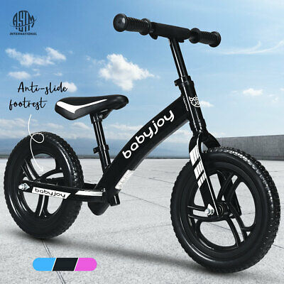 Kids Balance Bike Ride On Toys Puch Scooter Train Bicycle Toddler 12'' Bikes