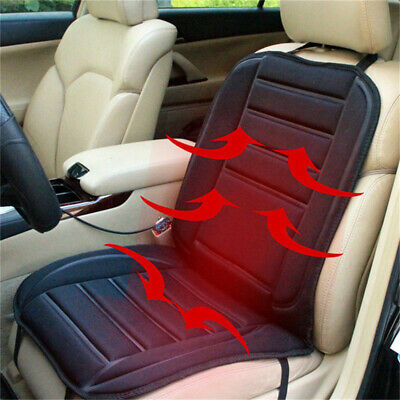 12V Electric Heated Car Van Front Seat Cover Pad Thermal Heating Warmer Cushion