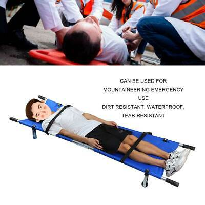 Aluminum Folding Stretcher Portable/ Medical / Funeral Removal Stretcher NEW