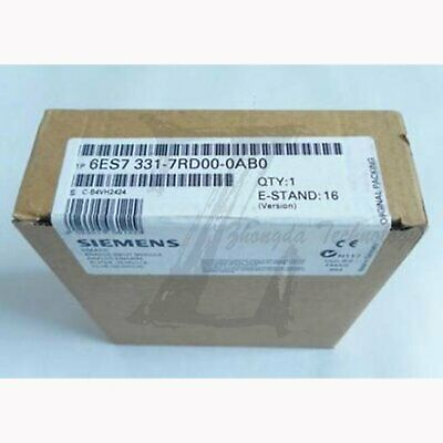 New Siemens S7-300PLC analog input module AI4 6ES7 331-7RD00-0AB0 fast delivery