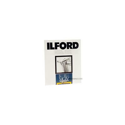 250 Sheets Ilford 8 x 10in Glossy MG IV RC Deluxe RC B/&W Enlarging Paper
