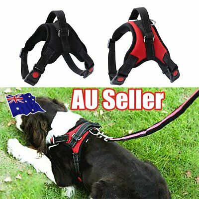 Pet Puppy Large Dog Vest Harness Nylon Hand Strap No Pull Adjustable S/M/L/XL IN