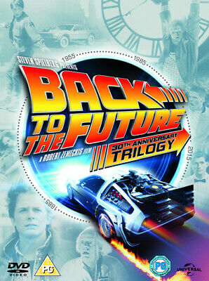 Back to the Future Trilogy DVD Box Set NEW