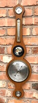 Antique Style COMITTI HOLBORN LONDON Mahogany Aneroid Barometer