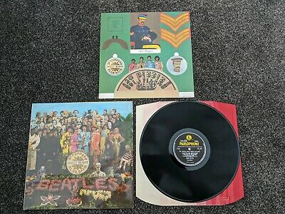 Beatles 1967 Uk 1St Stereo Press Sgt Peppers Lonely Hearts Club Band Excellent-