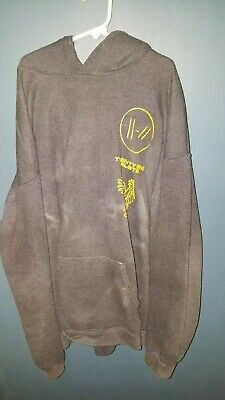 Official Twenty One Pilots Trench Bandito Tour Black Hoodie Pullover