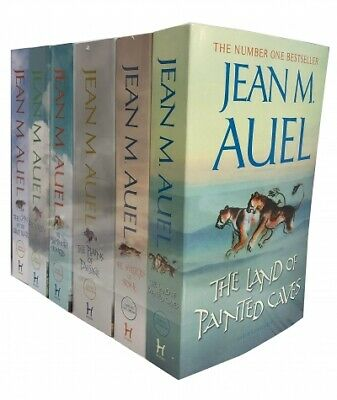 Jean M Auel 6 Books Earths Children Collection Set - The Clan of The Cave Bear,