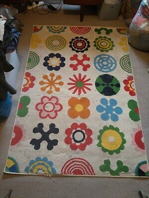 Ikea Rug Low Pile Flooring Rug Mat Runner Anti Slip Rubber