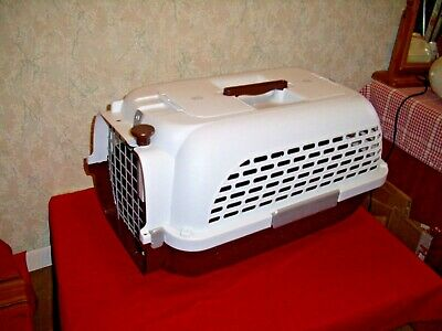 Plastic Pet Carrier H 32 x W 31 x D 50 cm