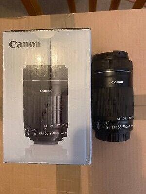 Canon EF-S 55-250mm F4-5.6 IS STM Zoom Lens