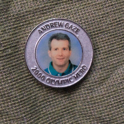 Sydney 2000 Olympic Medal - Team Captain, Andrew Gaze, Basketball