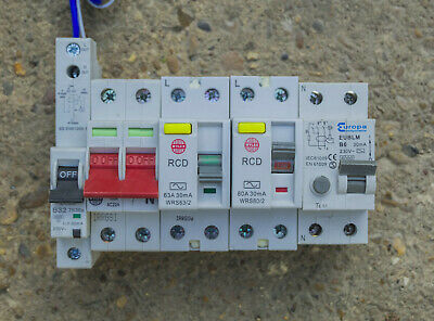 Lot of RCD switches