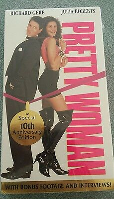 Pretty Woman - Vhs - 10Th Anniversary Special Edition - Sealed & New!!!