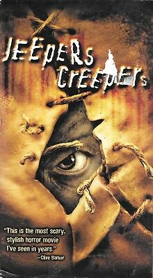 Jeepers Creepers - Gina Philips Justin Long  - 2002 MGM Home Video VHS Tape