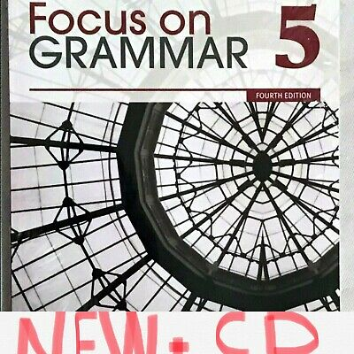 Focus on Grammar 5 Fourth Edition By Jay Maurer with CD Pearson NEW Book + CD