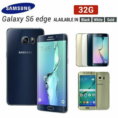 New Factory Unlocked Samsung Galaxy S6 Edge plus SM-G928F 32GB Gold White Black