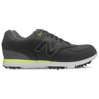 New Balance Nbg 574 Classic 15 Golf Shoes Black/Lime - Choose Size & Width