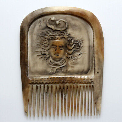 An Amazing Early Medieval European B0Ne Comb Depicting Helios