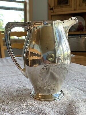 Reed and Barton S.P. CO Tall Silver Pitcher