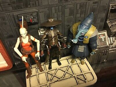 Star Wars CW Clone Wars action figures loose lot 3.75 ~Bounty Hunters~