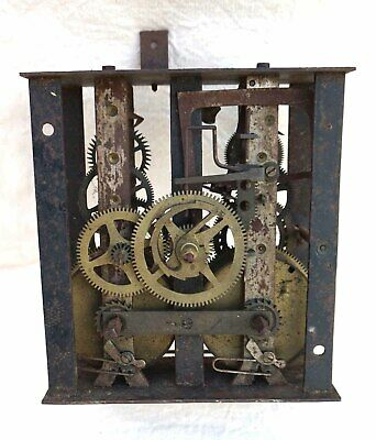French Morez Movement for Baker Clock 19th C Work For Replacement
