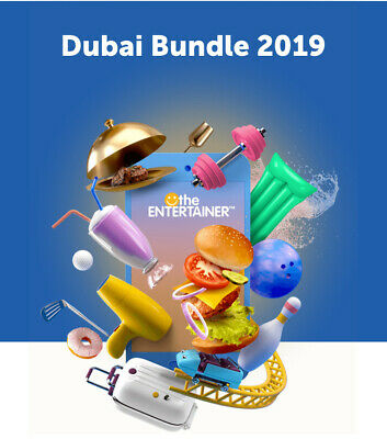 Entertainer Dubai 2019 with Fine Dining, SPA, Cheers And Hotels 7 day App Rental