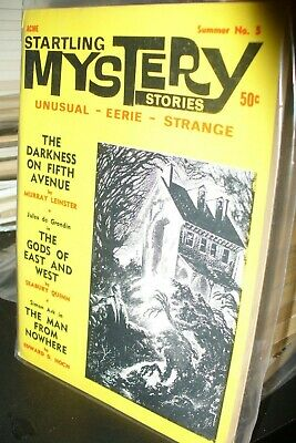 Acme Startling Mystery Stories 3, 4, + 5 1967/68 [3 Issues]