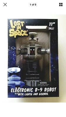 Lost In Space Electronic B9 Robot  Lights Up Euth Sound